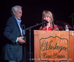 October 16, 2015 - Becky was inducted to the Oklahoma Music Hall of Fame along with Restless Heart, Tim DuBois, Scott Hendricks and Smiley Weaver.