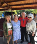16. with Chief Bill John Baker, Ann Ong and Evelyn Hibbs Sept. 1, 2018