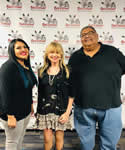 17. with Dee Martinez and Keith Moses at the NativVisions Film festival, Parker, Arizona