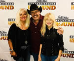with Benita Hill and Billy Yates at his Hit Songwriters In The Round show, Branson, July 2019