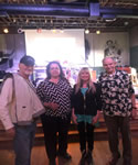 with fellow Oklahoma Music Hall of Fame members Chick Rains, Barbara McAlister and CH Parker at Ron Boren's C.O.L.