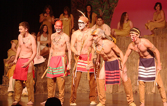 Nanyehi stage performance